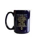 Mariners Rule - Navy - Mug