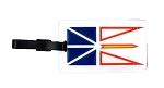 Luggage Tag - Newfoundland Flag