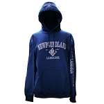 Hoodie - Newfoundland and Labrador Est. 1497 - 4 Icons - Navy