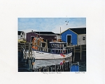 Bobbi Pike - Petty Harbour Blues - 8 x 10 -Unmatted Print