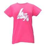 Ladies - T Shirt - Yes B'Y - Pink