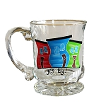 Beer Stein - Hand Painted - Jelly Bean Row - Yes B'y !